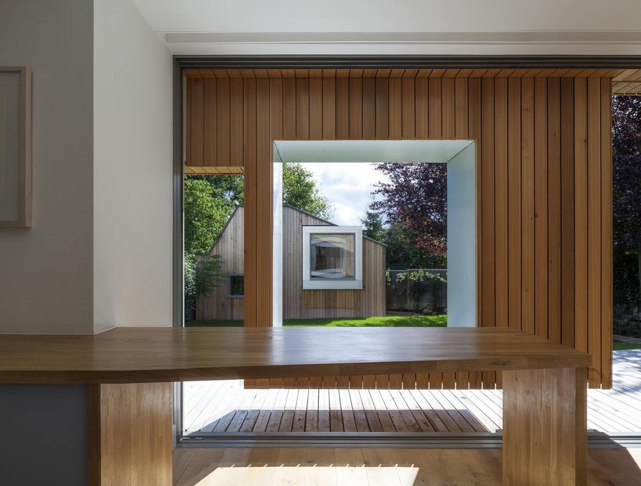 Cut frame house ashton porter architects for House framing 101